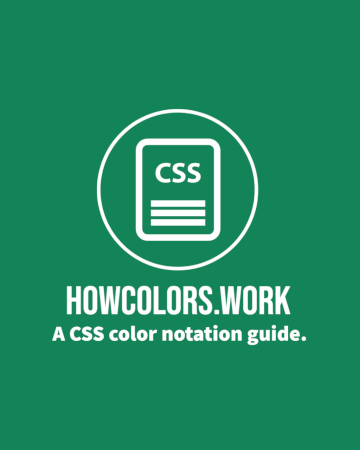 HOWCOLORS.WORK Book Cover